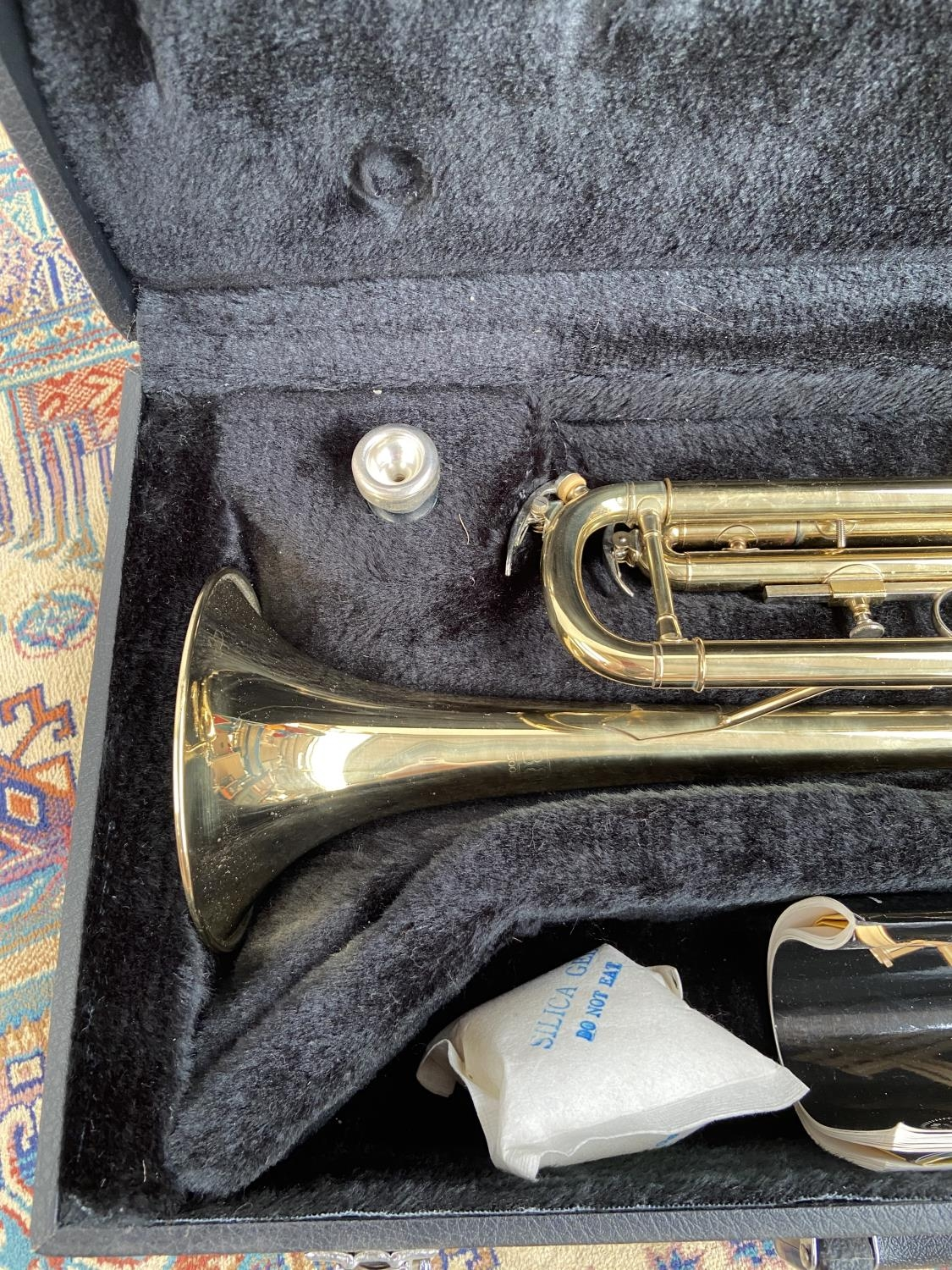 A Boosey & Hawks 800 trumpet, with mouthpiece & carry case - Image 2 of 7