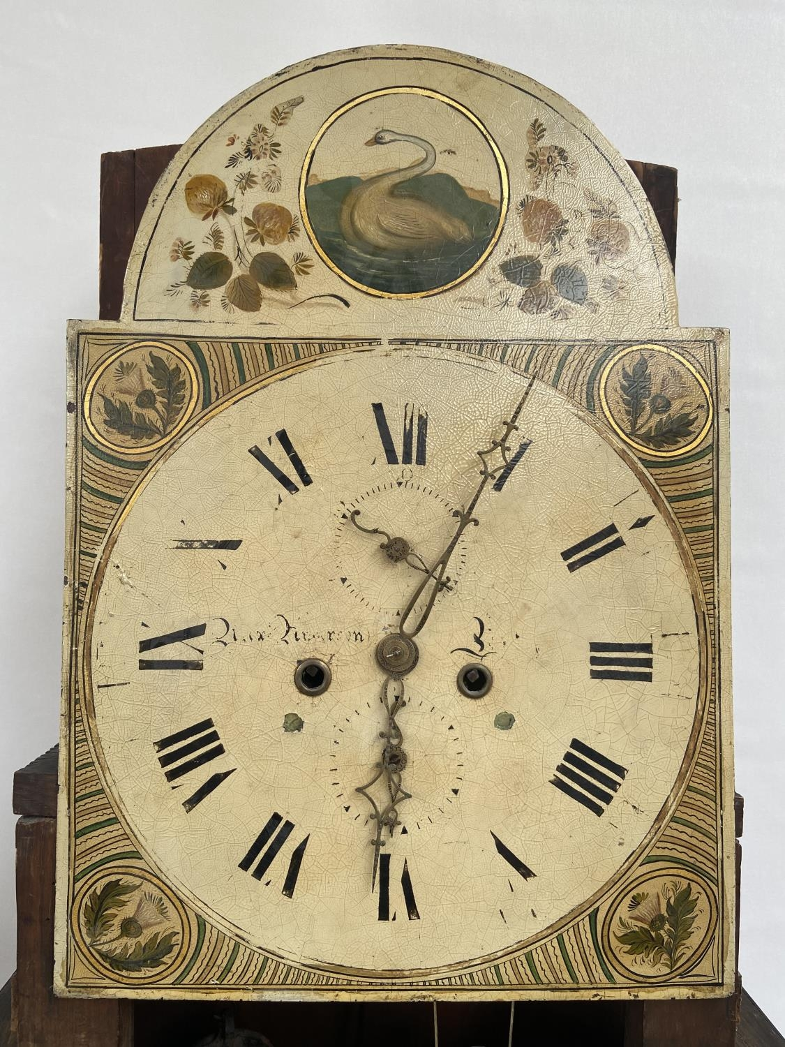 A 19th century Grandfather clock in a working condition [24x44x24cm] - Image 4 of 12