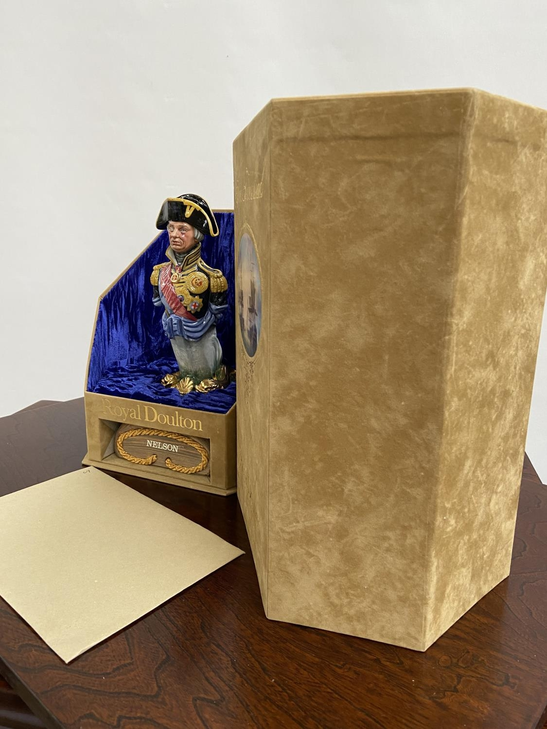 A Rare Royal Doulton Ships Figureheads bust titled 'Nelson' HN2928 [limited edition 69/950] comes - Image 5 of 6