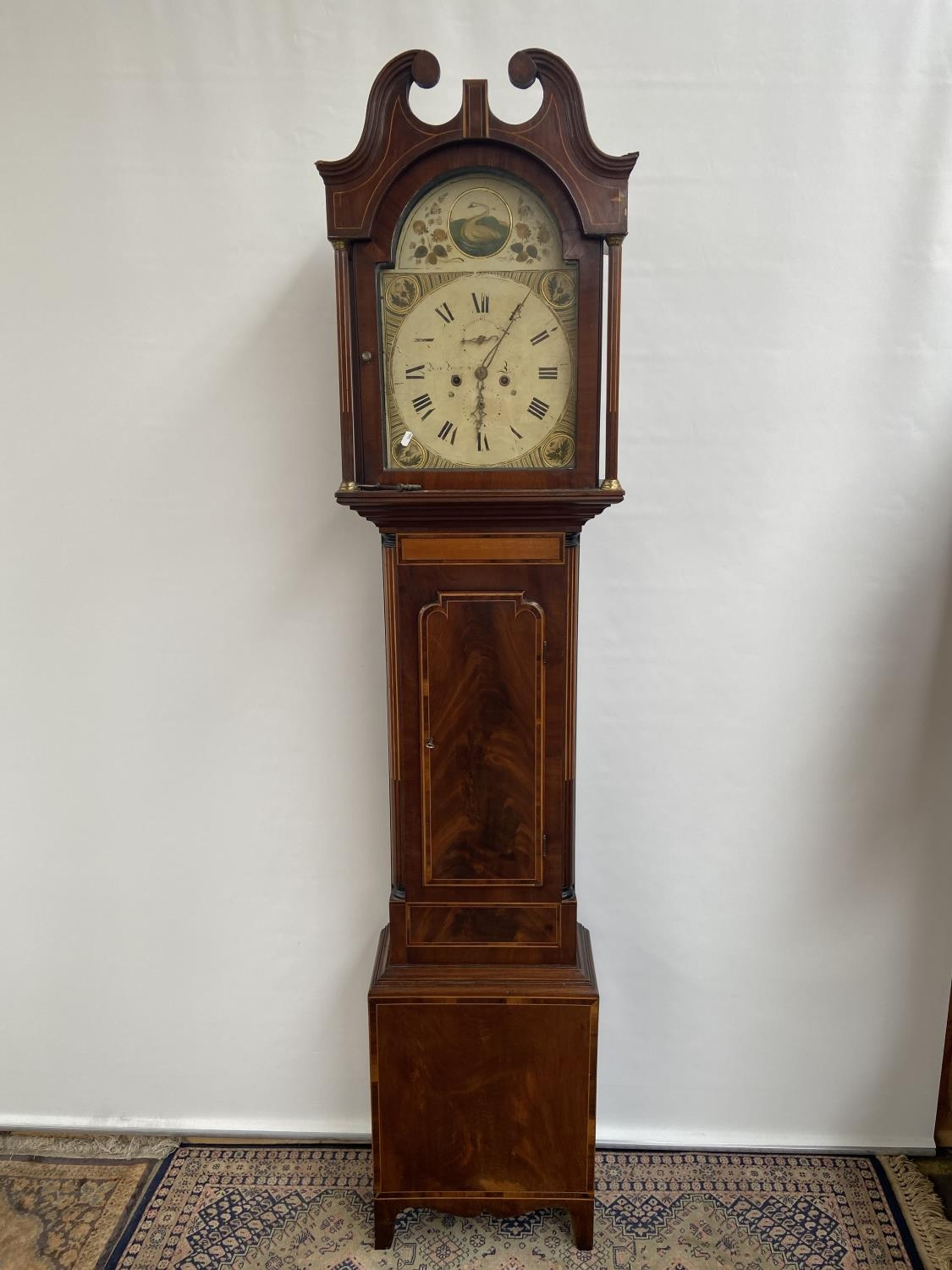 A 19th century Grandfather clock in a working condition [24x44x24cm]