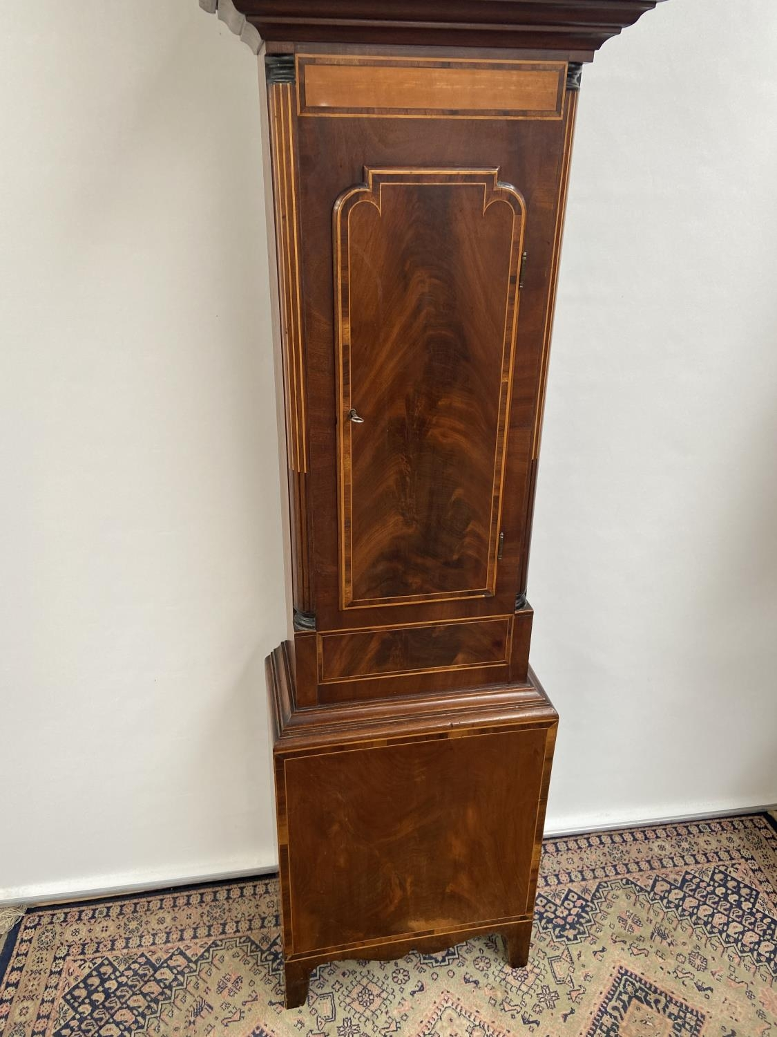 A 19th century Grandfather clock in a working condition [24x44x24cm] - Image 7 of 12