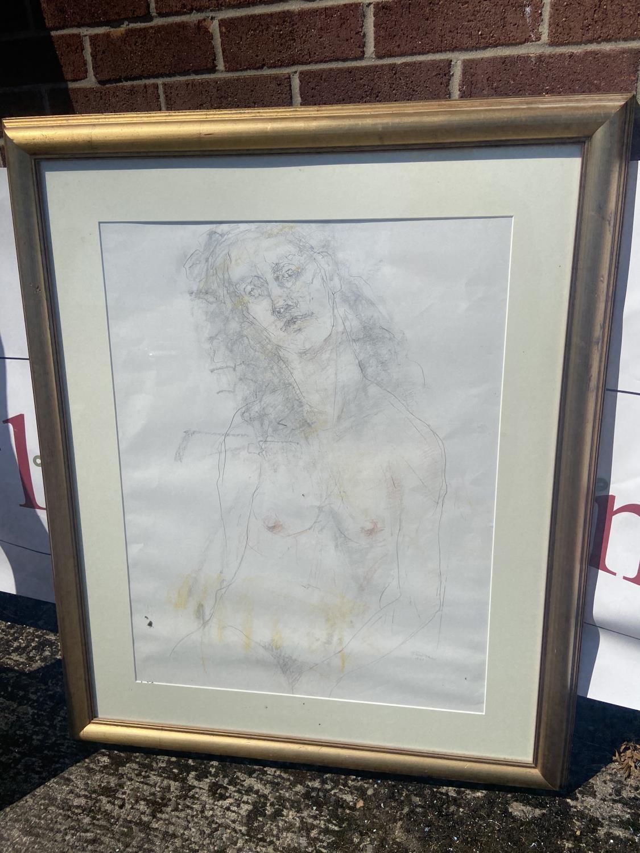 Nude study, signed J GUNN CAIRNS [102x83cm]