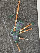 A Set of Bagpipes.