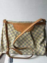 A Louis Vuitton Damier shoulder bag