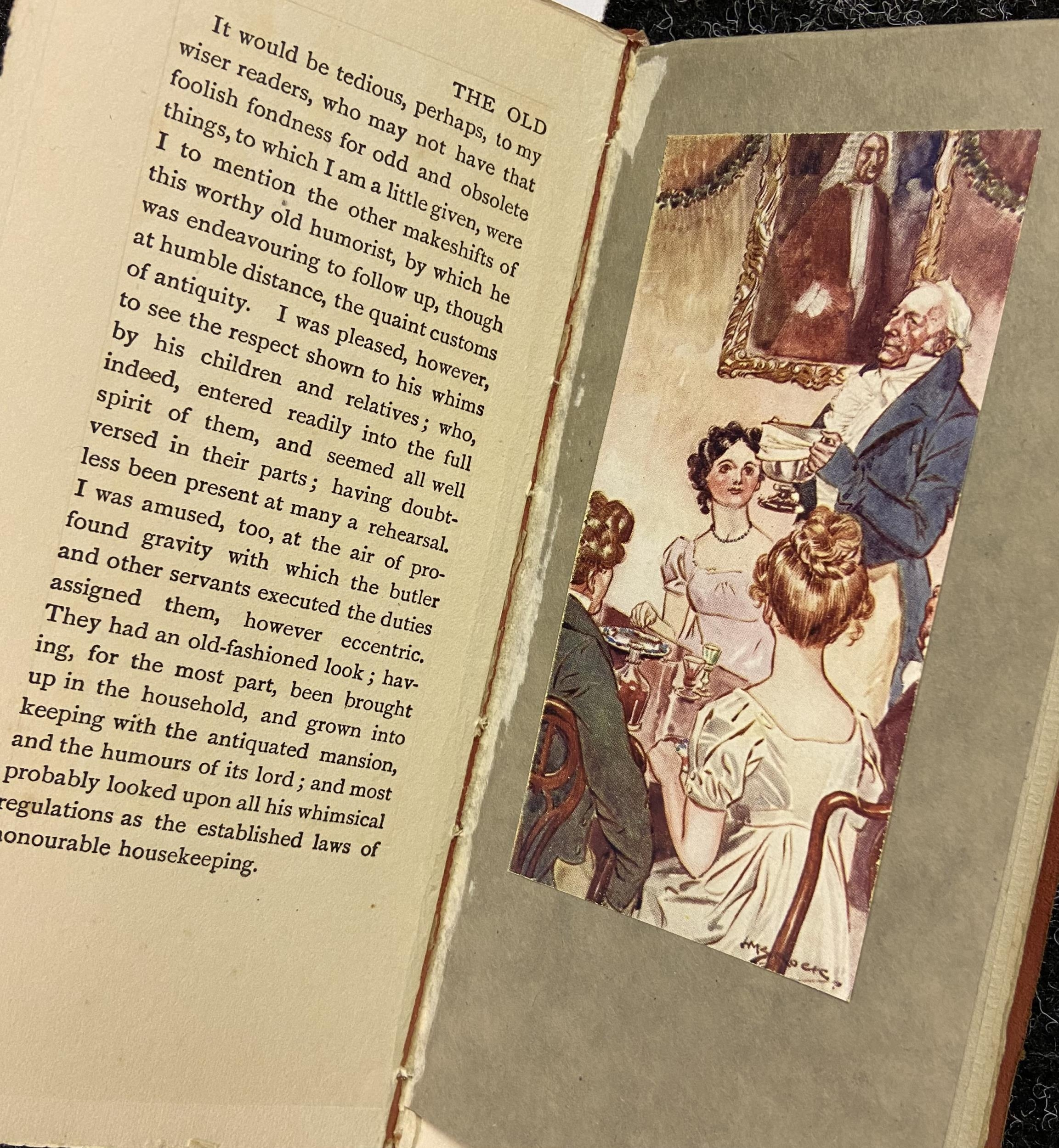 'The Old Christmas Dinner by Washington IRVING with Illustrations by H.M Brock - Image 3 of 4