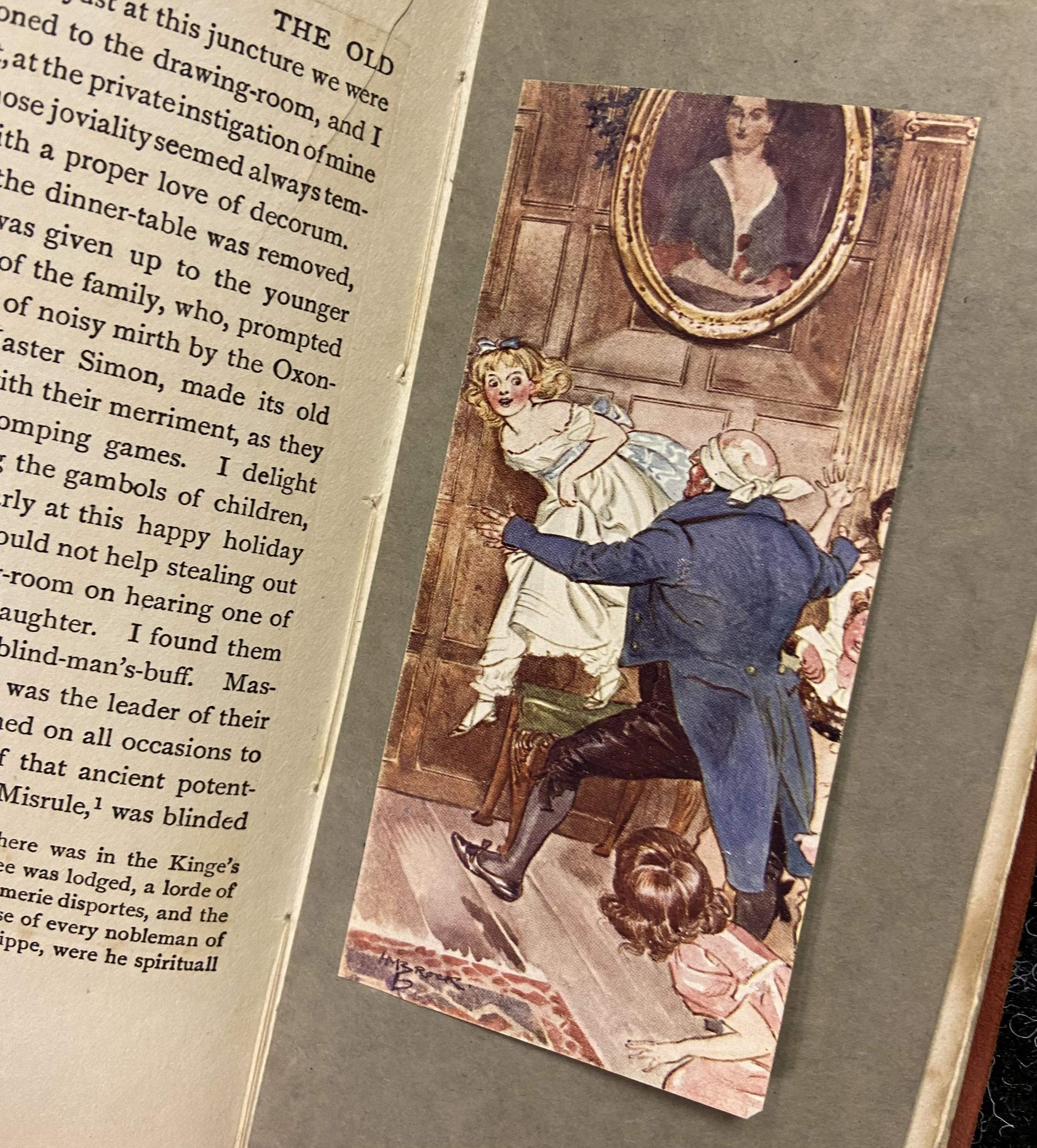 'The Old Christmas Dinner by Washington IRVING with Illustrations by H.M Brock - Image 4 of 4