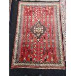 A handmade Iranian ornate rug [152x105cm]