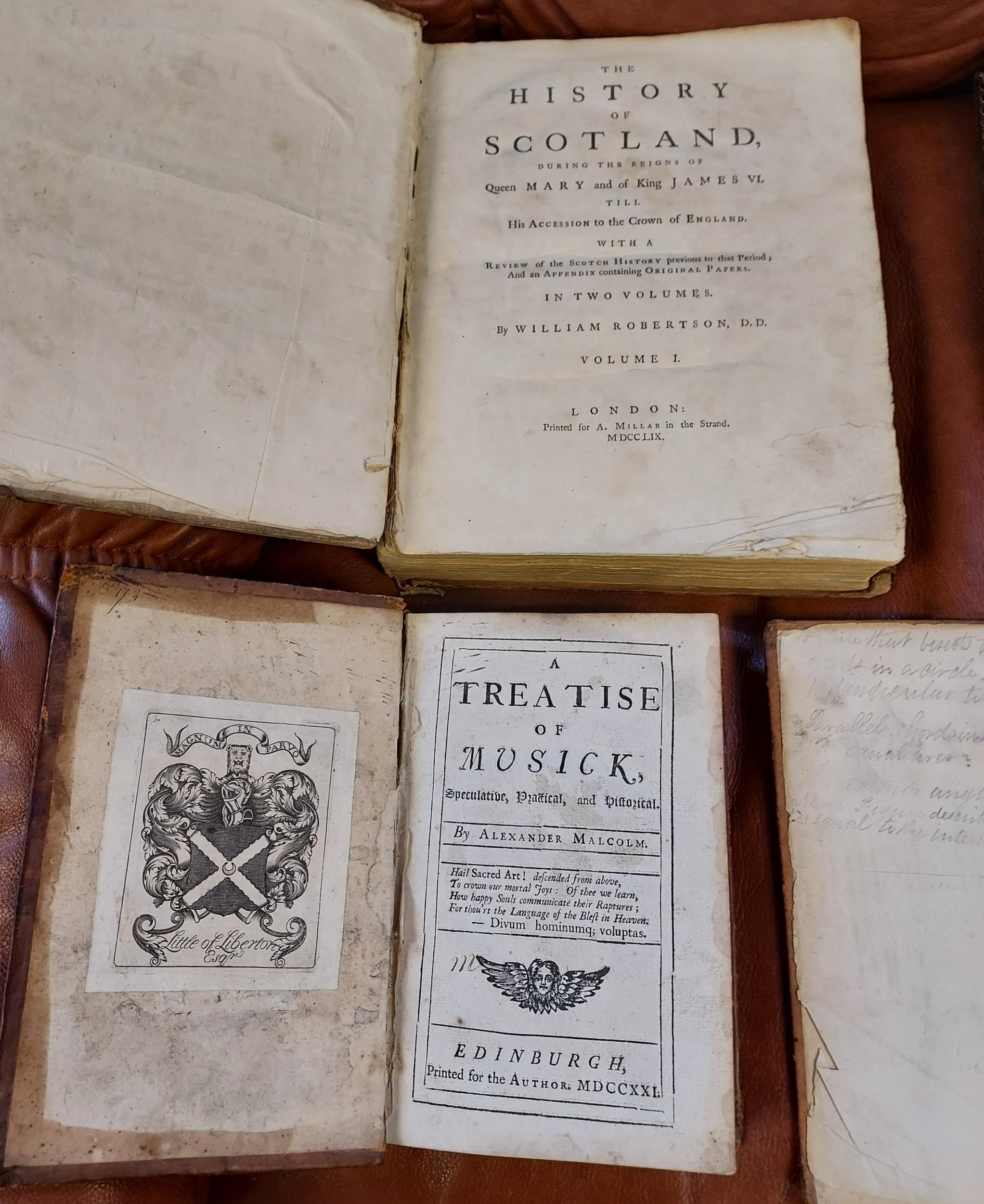 A collection of 18th/19th century books to include; 'The Headless Horseman' by George Somes - Image 5 of 9