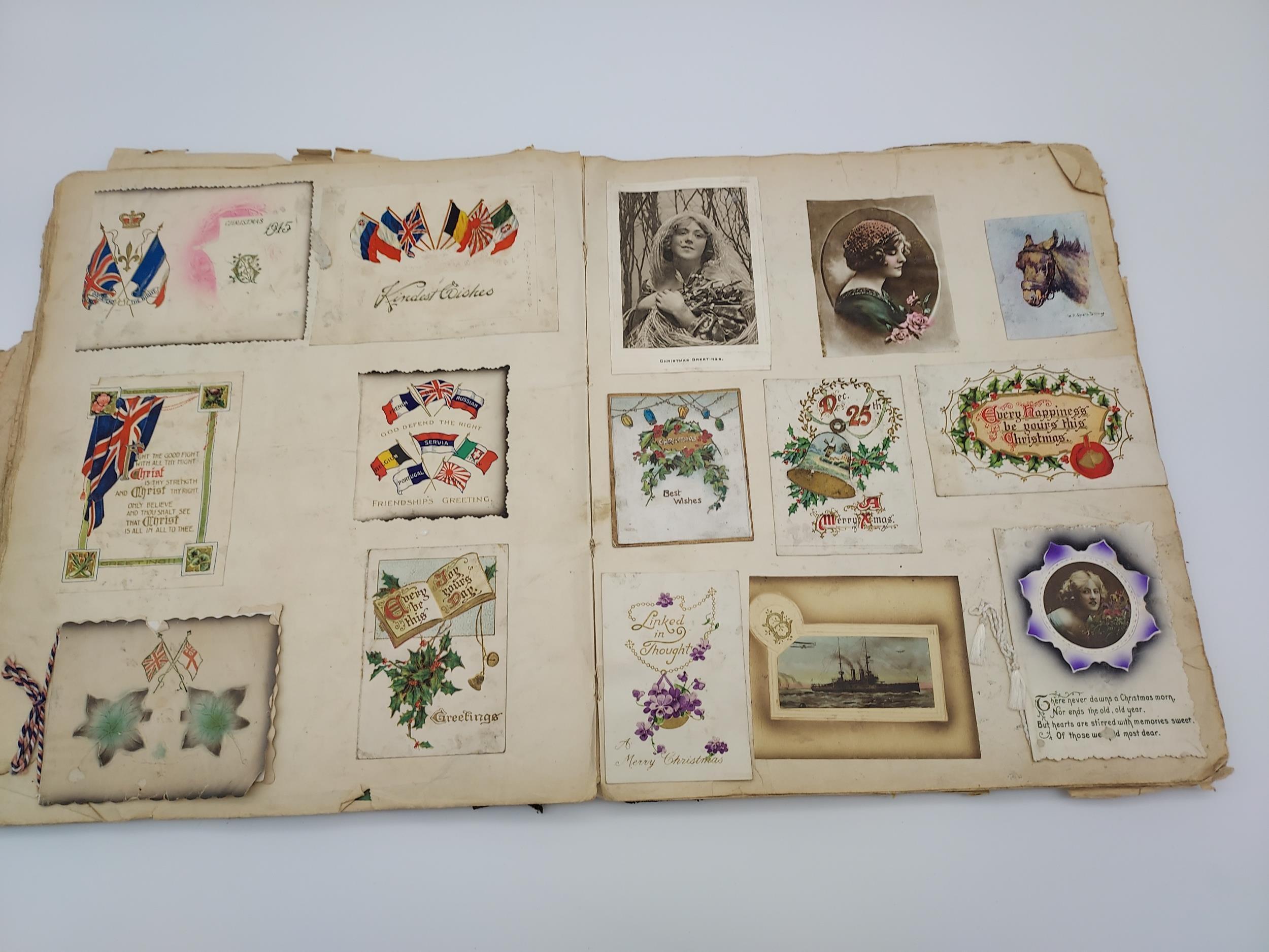 An Antique scrap book - Image 6 of 9