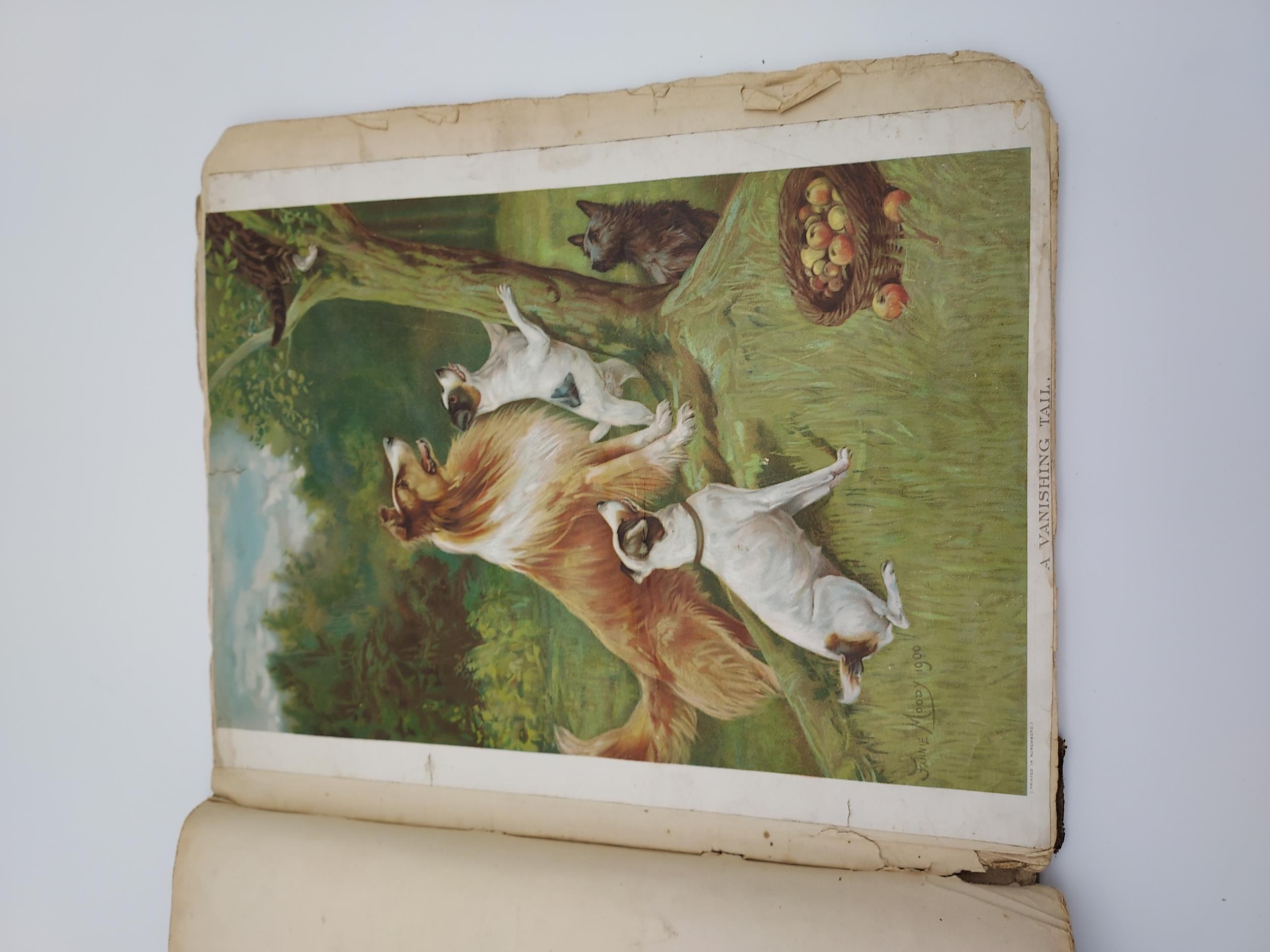 An Antique scrap book - Image 8 of 9