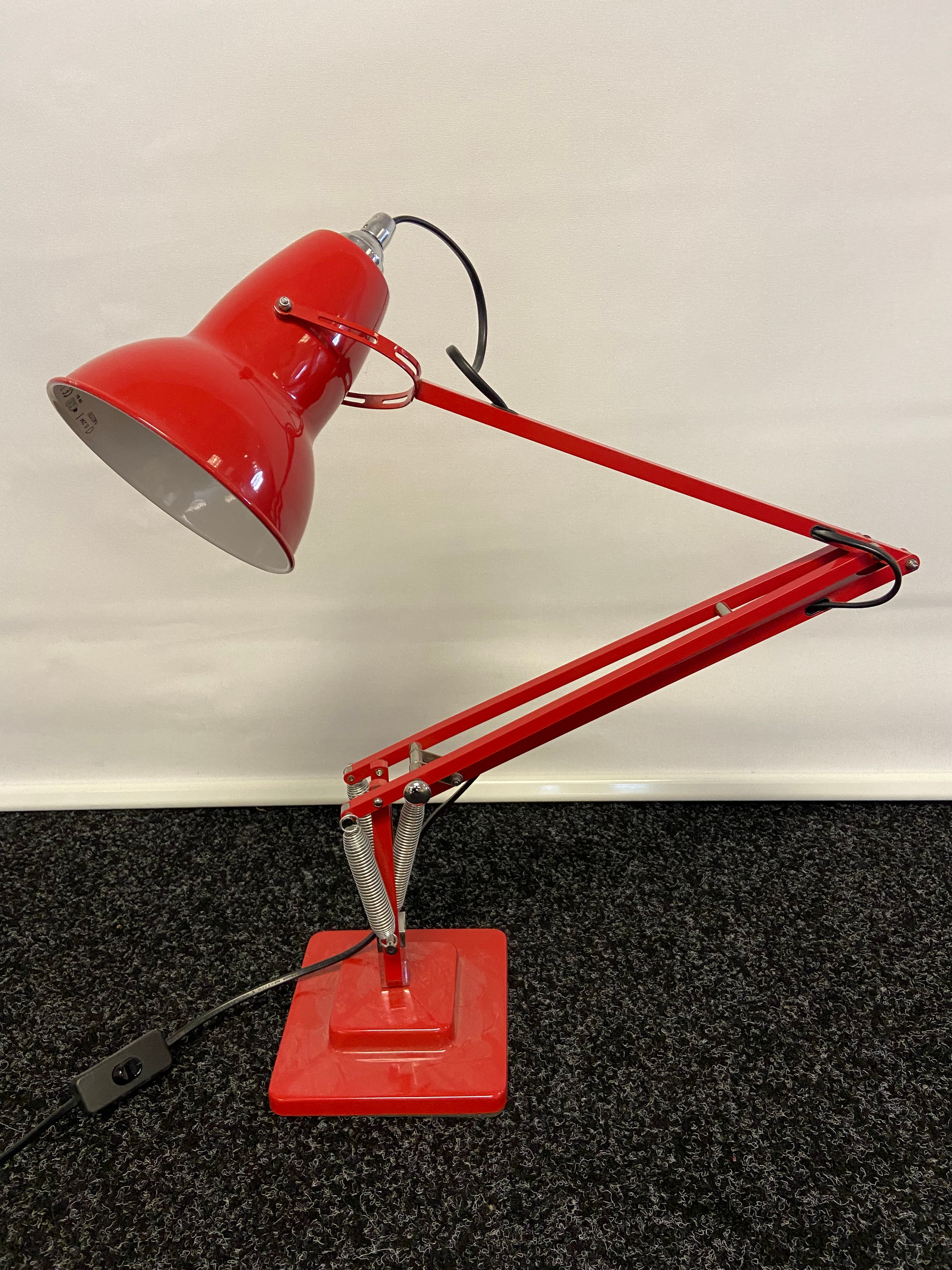A 1227 Anglepoise light. Working - Image 2 of 3