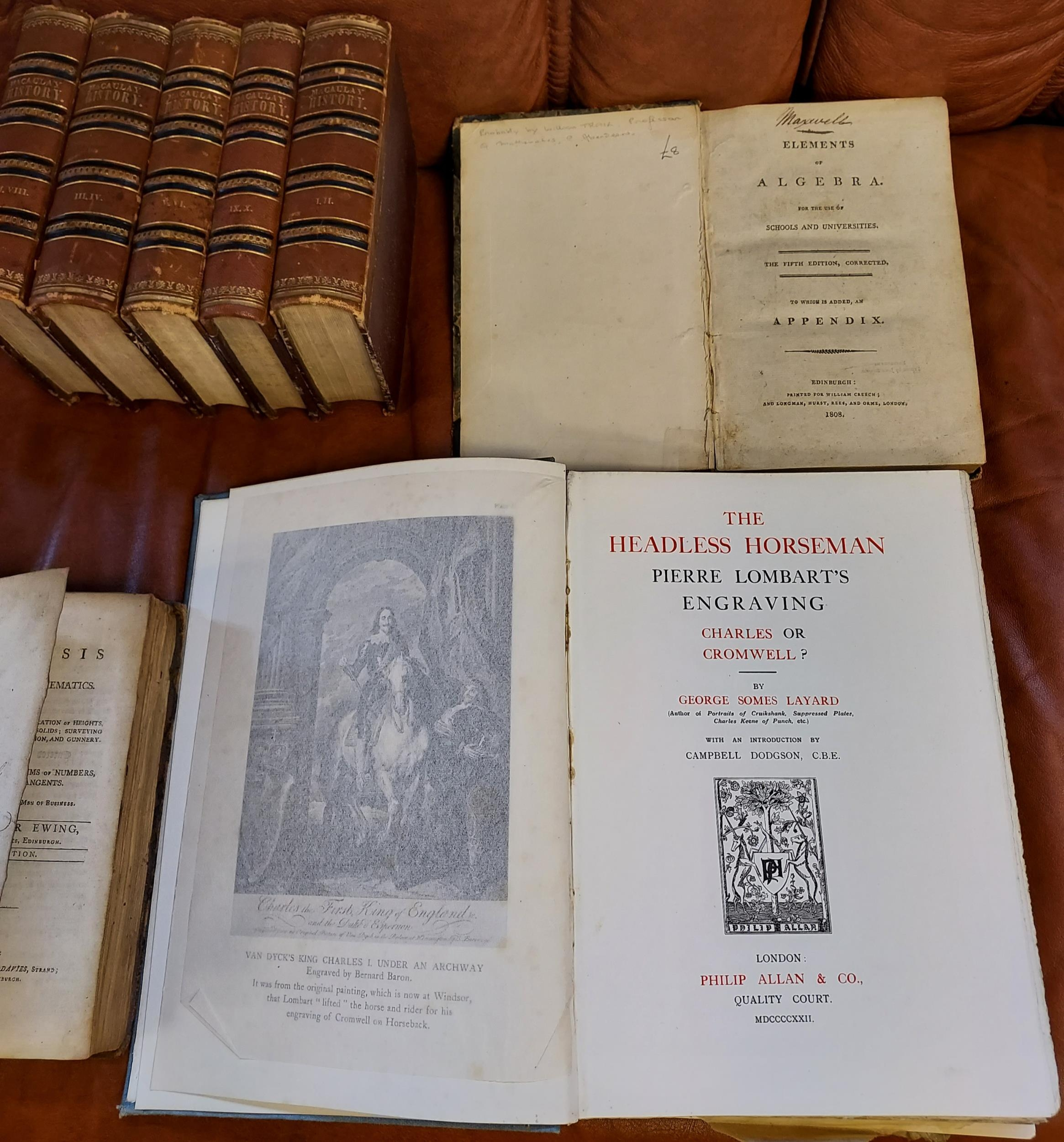 A collection of 18th/19th century books to include; 'The Headless Horseman' by George Somes - Image 2 of 9