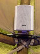 4 x Pulse White Speakers