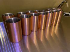 15 x Copper Wine Bottle Chiller