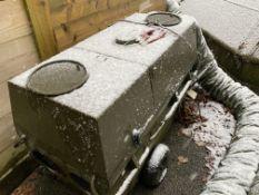 Army Grade Diesel Powered Heater