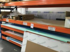 Single bay of Heavy Duty racking. 3.2m length with 5 x shelves
