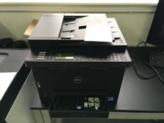 Dell E525W laser printer and scanner