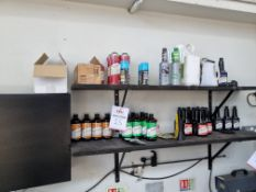 Shelving of aasorted engine / fuel system cleaning solutions