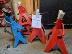 6 x adjustable havey duty mini props / stands