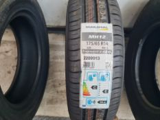 1 x New Marshall MH12 175/65R14 82H Tyre
