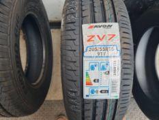 1 x Avon ZV7 205/55R16 91V Tyre