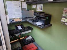 SnapOn Verus Edge vehicle diagnostice system including computer & printer