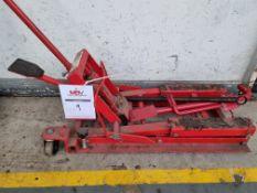 Sealey 680kg Motorcycle & Quad Bike lift / jack