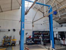 Ravaglioli 5500kg 2 Post Vehicle Lift
