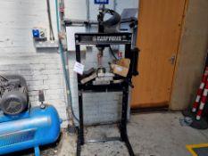20 Tonne Hydraulic Shop Press + parts