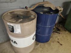 3 x Oil Drums