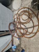 3 x Air Compressor Hoses and Pressure Gauge
