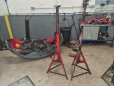 Pair of Axle Stands