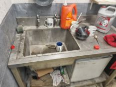 Single Deep Bowl Stainless Steal Sink with Drainer