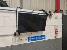 Bush Televiosion and Wall Bracket