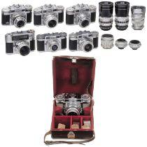 Sammlung Braun-Nürnberg-KamerasCarl Braun, Camerawerk Nürnberg. Alle Geräte nur äußerlich beurteilt,