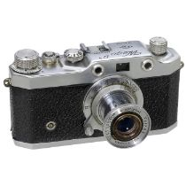 "Wega IIa, seltene Leica-Kopie, um 1952 A.F.I.O.M., Italien. Wega IIa mit ""CD""-Logo. Nr. 40201, mit"