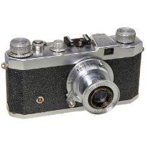 """Kristall Standard, um 1950 Chinaglia, Italien. Nr. 12672, Verschluß B, 1/20-1/1000, läuft. Mit """""""
