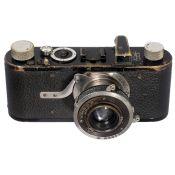 Ring-Compur Leica (Modell B), um 1930 Leitz, Wetzlar. Nr. 40508, ungewöhnlich hohe Serien-Nummer.