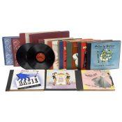 12 Alben mit Schellackplatten, 1950er Jahre 1) MGM, Jane Russell and Marilyn Monroe, 6 Titel aus dem