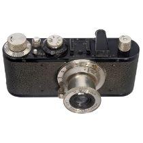 Leica Standard, um 1932 Leitz, Wetzlar. Nr. 103916, sehr frühe Standard ALVOO. Vulkanit um das