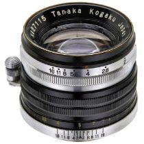 Tanar HC 2/5 cm, um 1950 Tanaka Kogaku, Japan. Nr. 27115, Entfernungsmesser-Kupplung, für Leica-