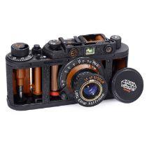 Aufwendiges Schnittmodell Auf Basis einer Fed wird das Schnittmuster vergleichbar einer Leica II