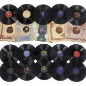 Orchester-Tanzmusik auf Schellackplatten,um 1910-50 1) Kalliope 1609, Sam Baskini und seine Jazz-
