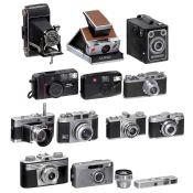 11 deutsche und 3 weitere Kameras, ab 1938 1) Voigtländer Vitessa Typ 3, Ultron 2/50 mm, lange