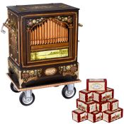 """Drehorgel Raffin Modell R31/84 """"Konzert"""" Orgelbau Josef Raffin in Überlingen. 31 Tonstufen, 84"""