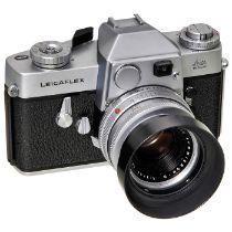 """Summicron-R """"Silber"""", um 1964 Leitz, Wetzlar. 1) Summicron-R 2/50 mm Nr. 1940750. Von diesem"""