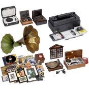 Record Players, Record Cleaning Machine, Horns and More