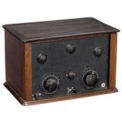 Ducretet Radiomodulateur RM6 Radio Receiver, c. 1926