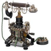 Skeleton Telephone by L.M. Ericsson, 1892 onwards