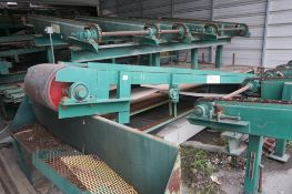 Winston Machinery stick removal Belt Conveyor
